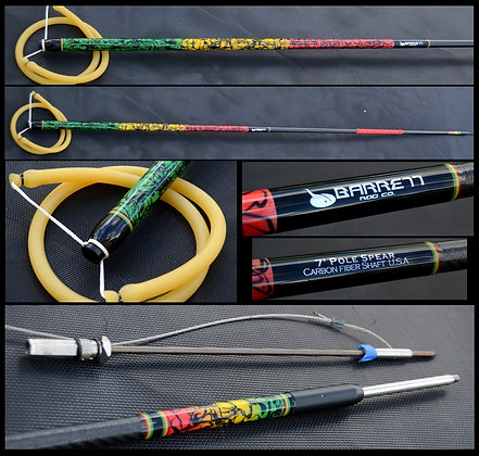 7ft rasta pole spear