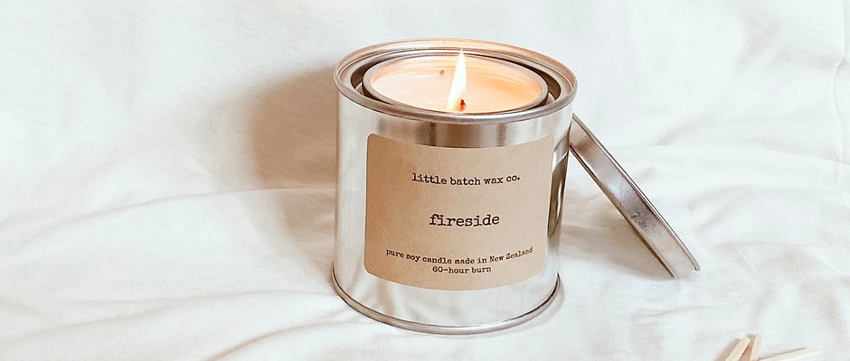 Industrial Candle Tin