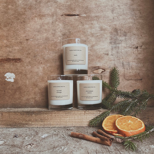 Set of 3 Christmas Candles (Noel, Christmas Cabin & Spiced Orange)