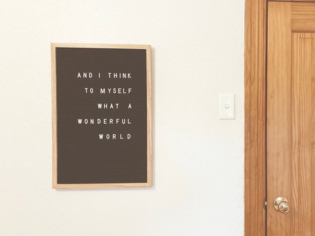 Letter Board Ideas for a Creative Space