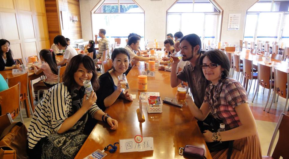 Asahi Beer Factory and bento picnic 024.