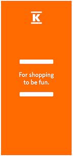 ENG Valk K-logo + slogan, oranssi tausta