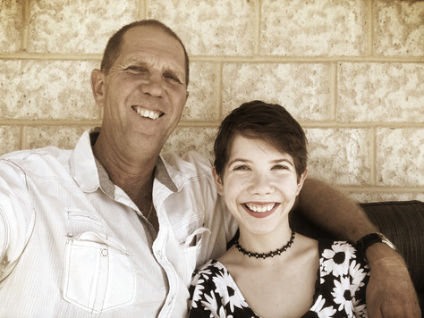 Being a dad to a teenage daughter with endometriosis
