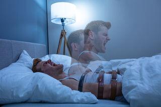 Guy being paralysed in his sleep
