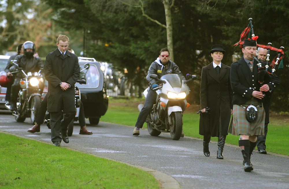 Funeral of wally walton