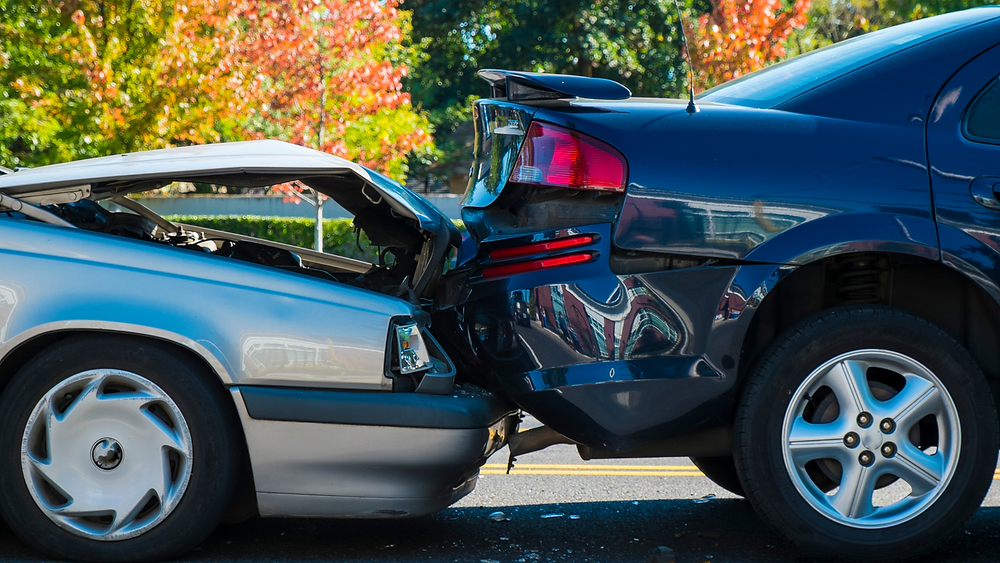 rear end auto accident