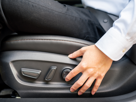 How to Adjust Your Driver's Seat to be Ergonomic