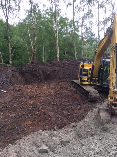 Digging a long way down
