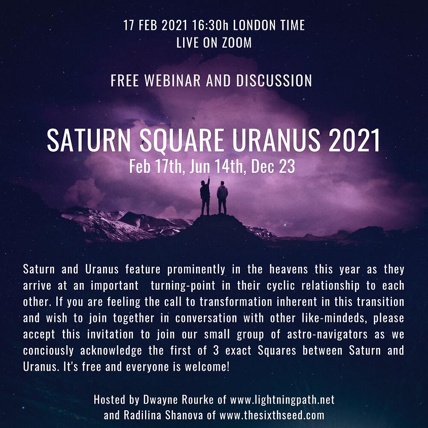 Saturn Square Uranus 2021