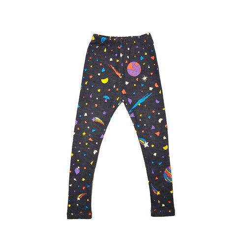 """Little big bang"" Merino & silk leggings"
