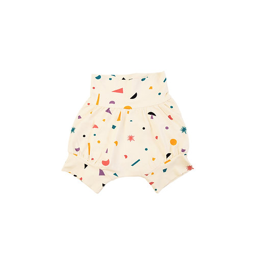 """Little big bang"" Organic cotton shorts"