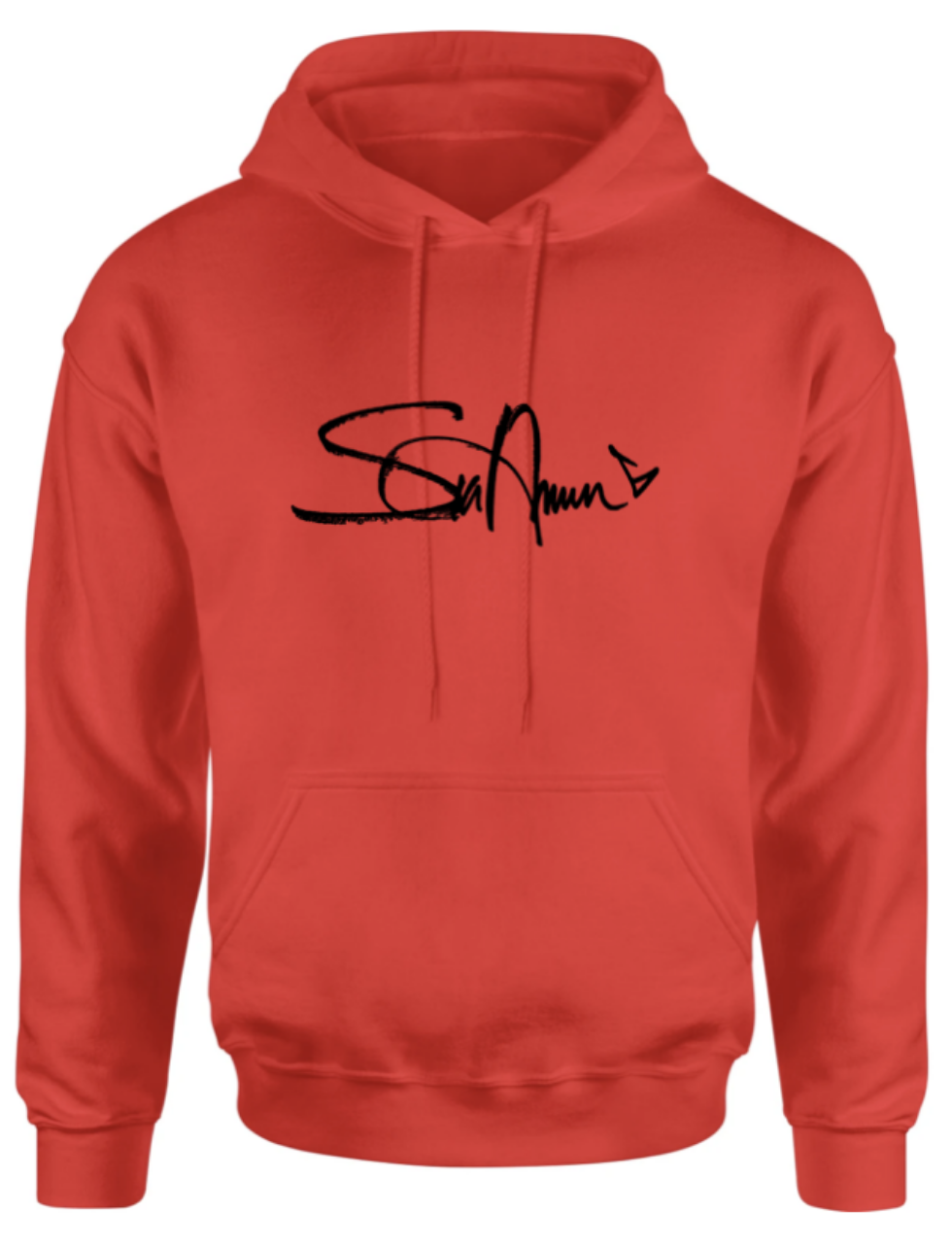 Signature Hoodie Red