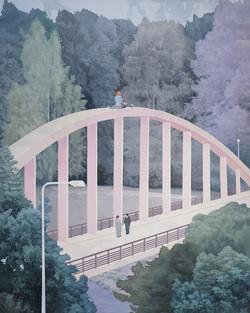 卢沟桥事变 布面油画,丙烯 250X200cm 2011