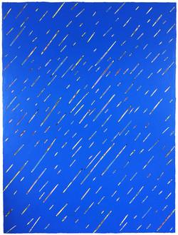 《绘画109—雨》90x120cm 木板丙烯2018