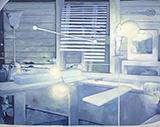 室内滂沱Indoor Torrential 布面油画 170x210cm 201
