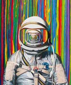 自我趋向二 布面油画 155x130cm 2015 Self-Direction