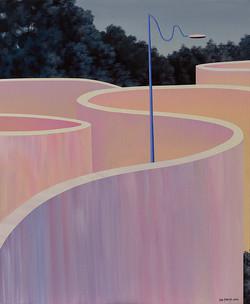 《失明灯》之二 50X60CM  布面油画 2015