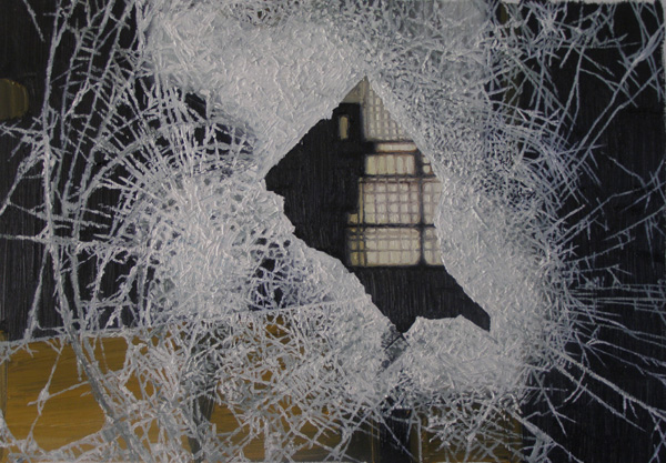 《perfect——残破No.5》 布面油画 50x60cm 2011