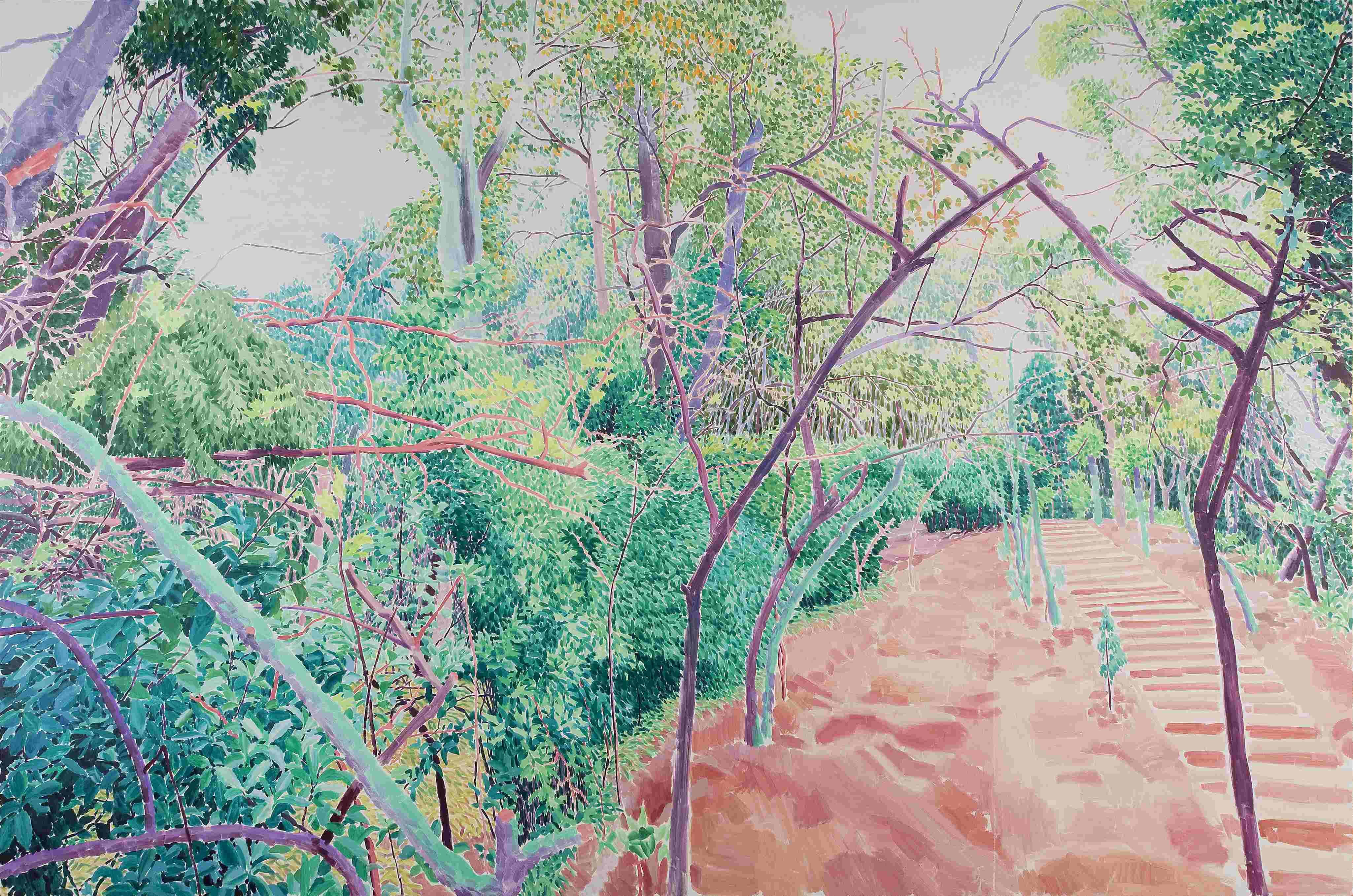 旅途的风景1#    200x300 2011