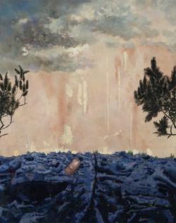 李大方 《纽扣》2012 布面油画 180 x 140 cm