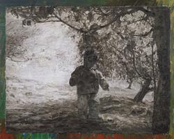 春天在哪里 布面油画 200x250cm 2011