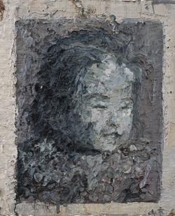 丹丹 布面油画 65x50cm 2011