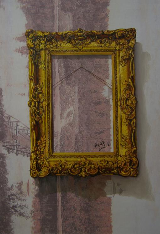 《选择》 布面油画 85x65cm 2012