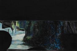 后视镜NO.36 布面油画 45x45cm 2010