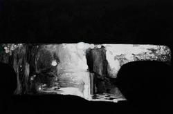 后视镜NO.46 布面油画 54x80cm 2010