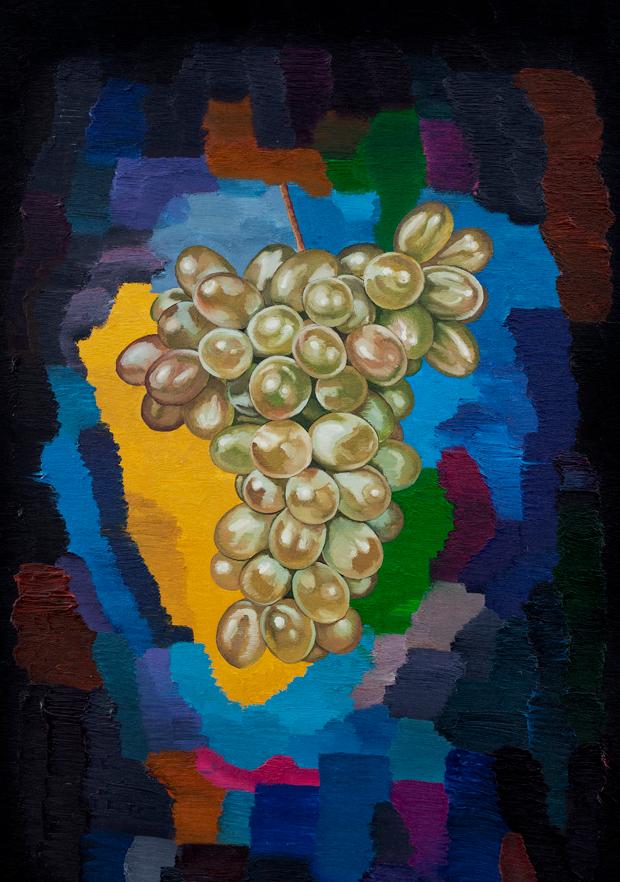 葡萄 布面油画 120x80cm 2012