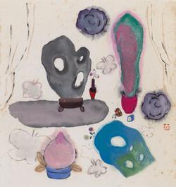 《石系列09》16.5x19cm 纸本设色 2020年的副本