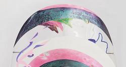 巨甲阵-卍字谜(局部)   综合材料    105×205cm    2016