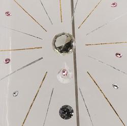 巨甲阵-五彩石(局部)   综合材料   105×205cm   2016 (2