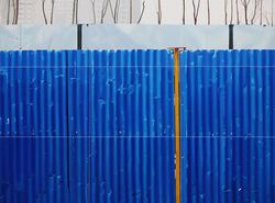 蓝色隔离NO.10 布面油画 150X200cm 2012