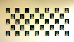 先锋青少年, 张博夫, 布面油画, 24 x 30cm, 2006