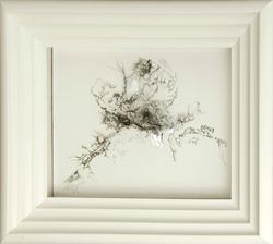沈瑞筠 《这边风景独好》 透明薄片、铅笔、木板 43x36cm 2007-201