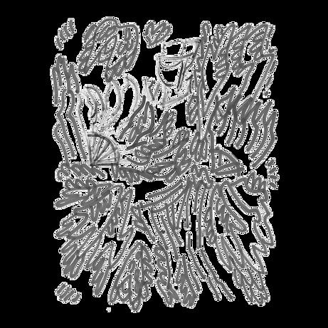 Maken 1, Marker pen on paper card, Beijing, 2019