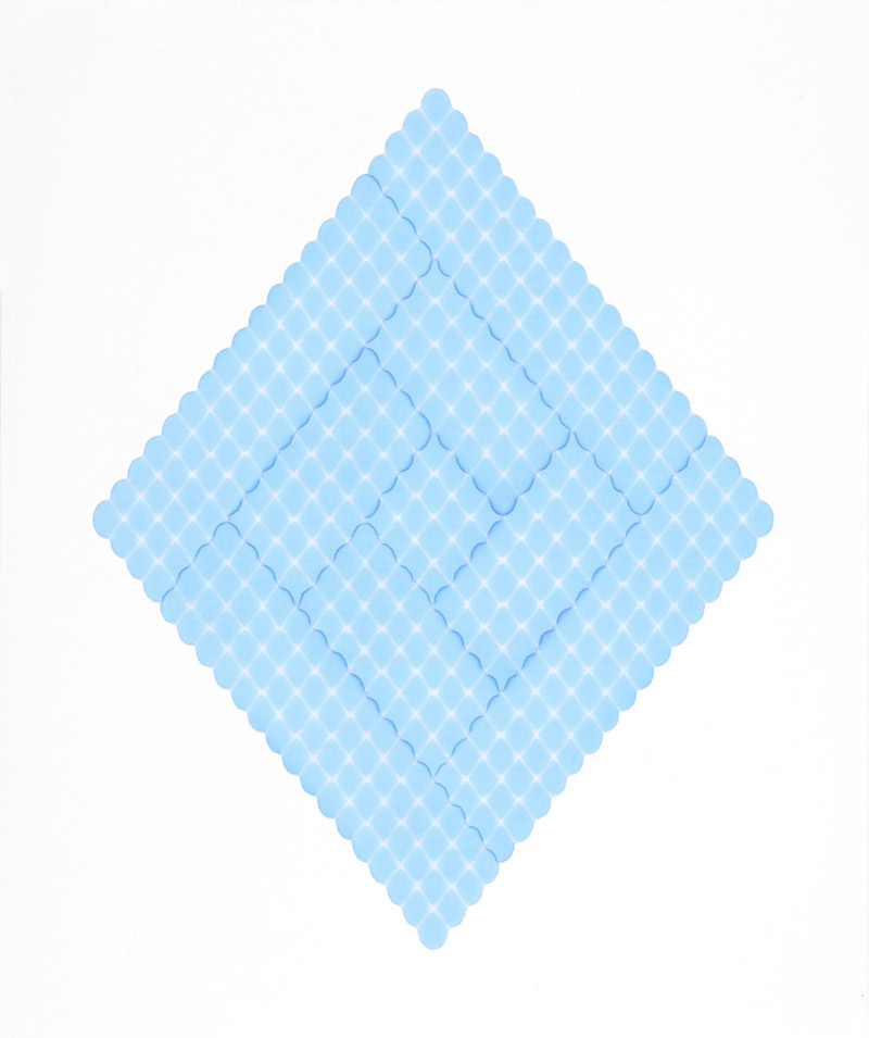 涟漪 b12-s1,Rippling  b12-s1,纸上马克笔,Marker