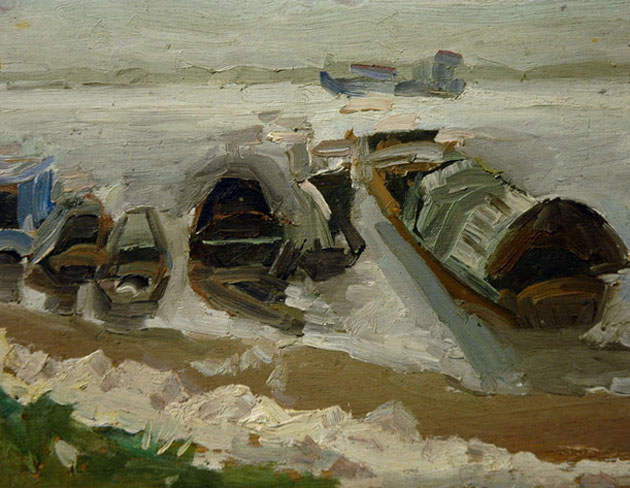 郑志华, 布面油画, 2004 - 2007