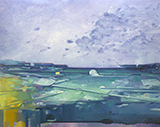 能见度Visibility 布面油画  150x190cm 2014