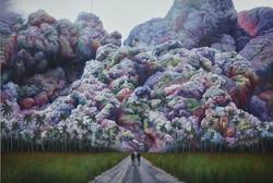 云途系列之三 布面油画 350x510cm 2014