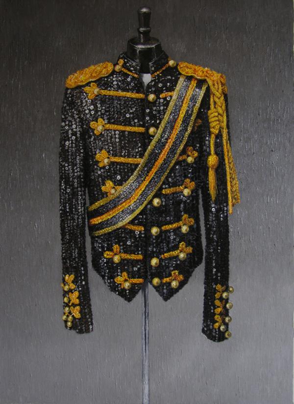 《Superstar》 布面油画 130x95cm 2011 黑