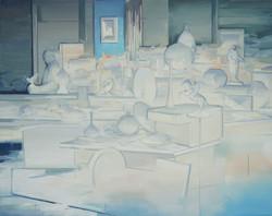 芒室 布面油画 210x170cm 2016