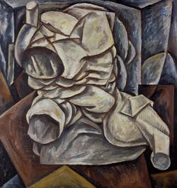 1984年《残肢》,90cmx96cm,布面油画,王易罡