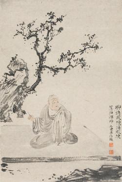 禅林宝相册 纸本水墨 22x34cm 11