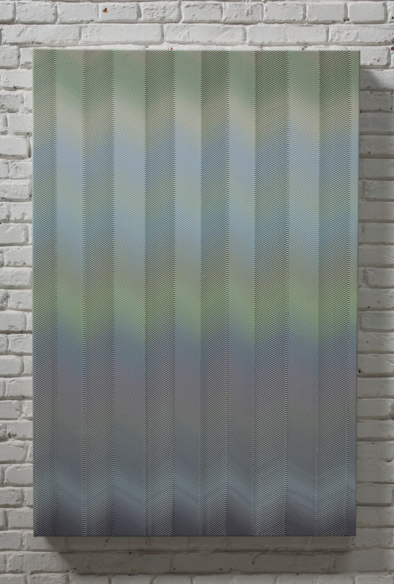 辙2 布面丙烯 97x145cm 2011