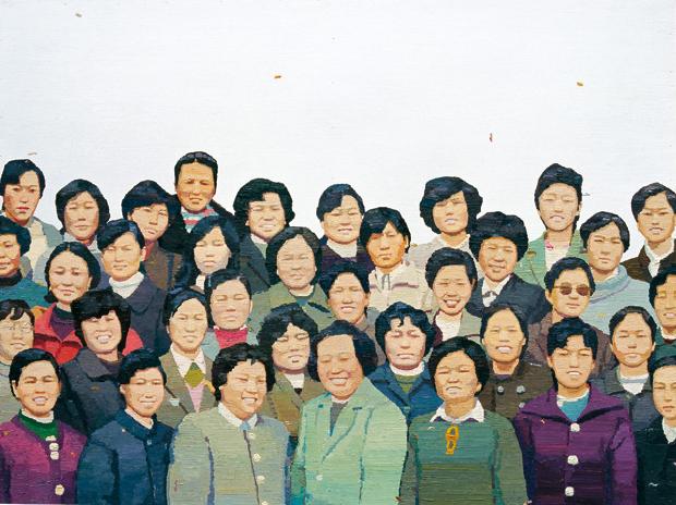 社会 木板油画 70x90cm 2012
