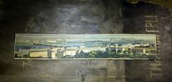 平壤, 仇晓飞, 布面油画, 200 x 400cm, 2004