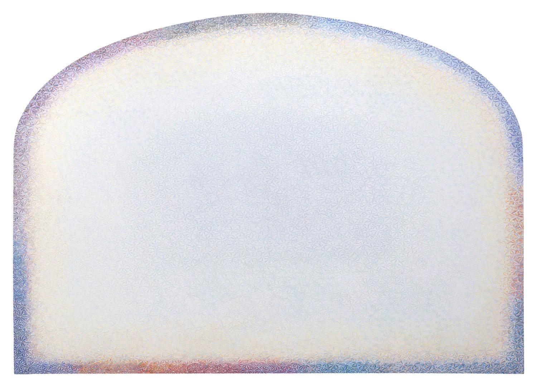 1. 尘201501 布面彩色铅笔 200x280cm 2015