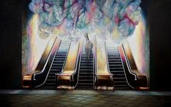 云途系列之一 布面油画 150x240cm 2014